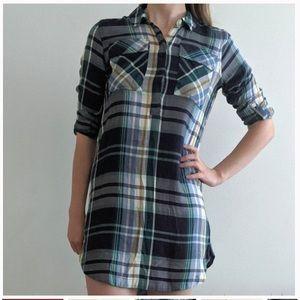 SO Plaid Shirt Dress size Small